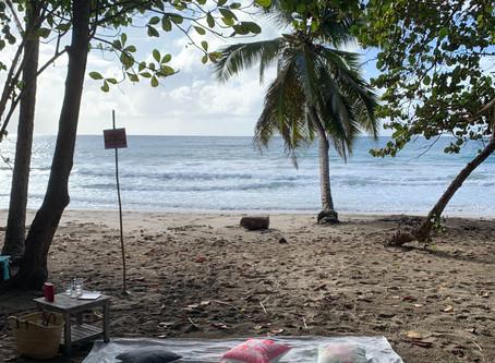Sophrologie détente sur la plage du Diamant (Martinique)-11/01/2020