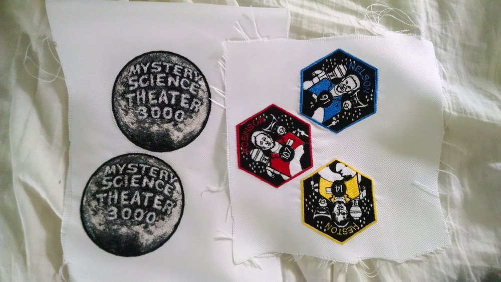 mst3k cosplay patches
