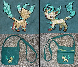 Leafeon Purse