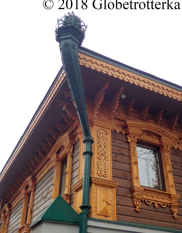 Détails d'une maison traditionnelle