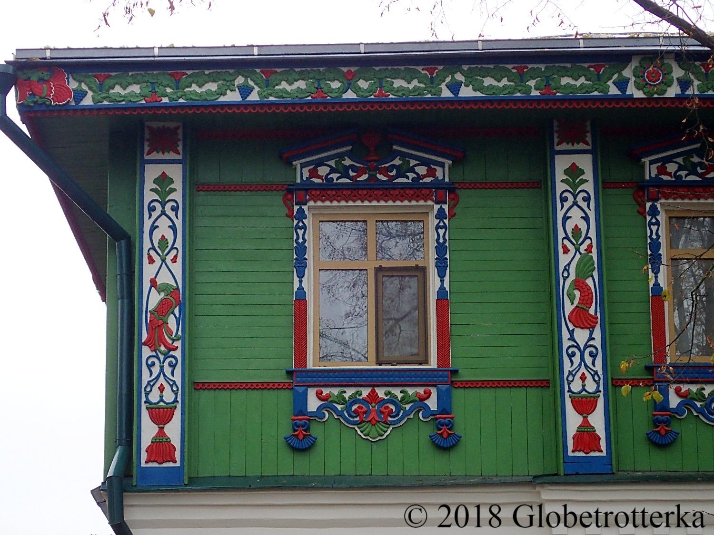 Details d'une maison traditionnelle