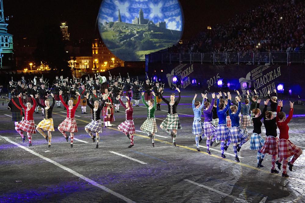 Neuvième festival Spasskaïa bachnia, août 2016, l'Ecosse, photo du site officiel du festival