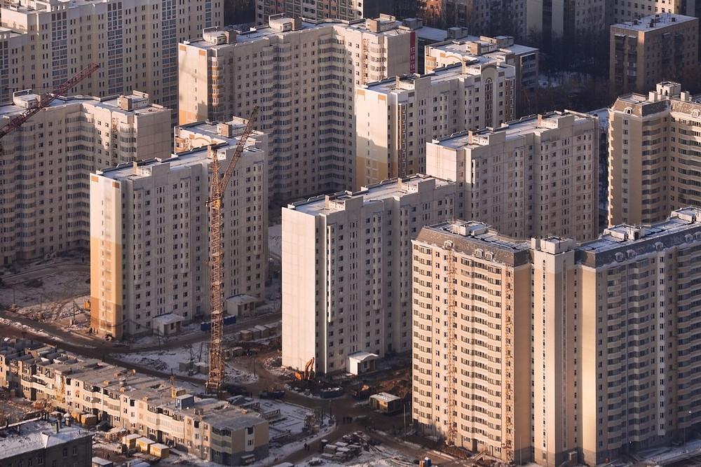 Nouveaux blocs d'appartements