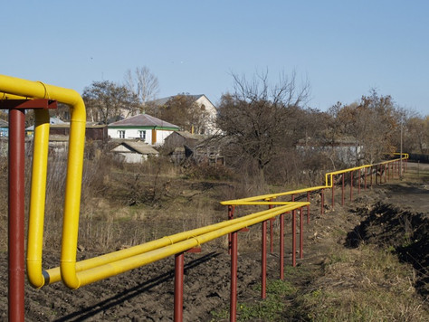 La gazéification des habitations en Russie