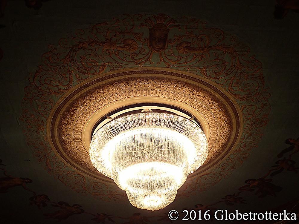 Plafond du théâtre Mariinsky © 2016 Globetrotterka