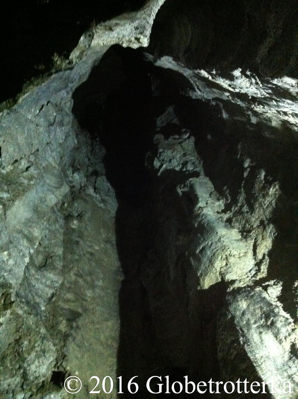 Grotte la plus haute, hauteur du plafond : 22 mètres. © 2016 Globetrotterka