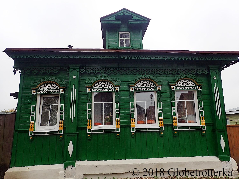 Maison typique de Souzdal