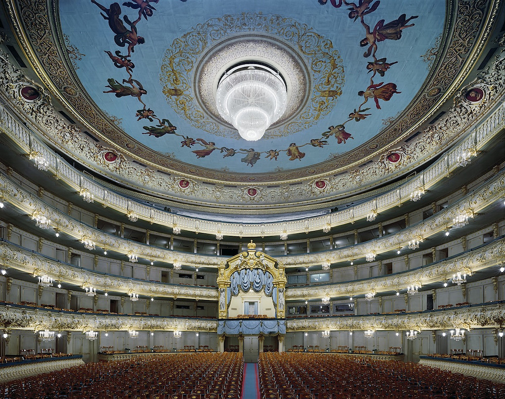 Intérieur du théâtre Mariinsky