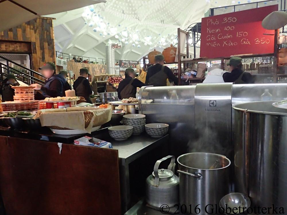 Café Bo, marché Danilovski © 2016 Globetrotterka