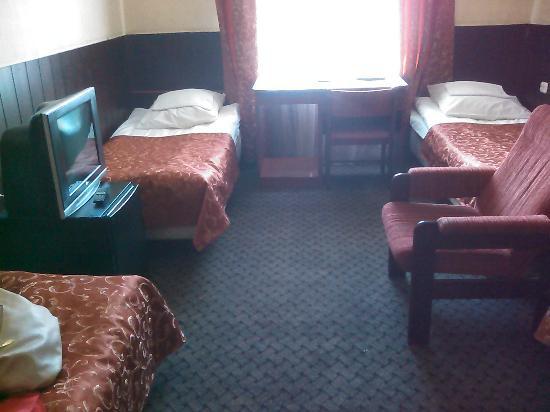 Une des chambres de l'hôtel Tourist. Photo du site tripadvisor