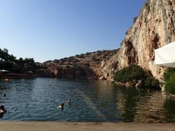 Lac Vouliagmeni, banlieue athénienne