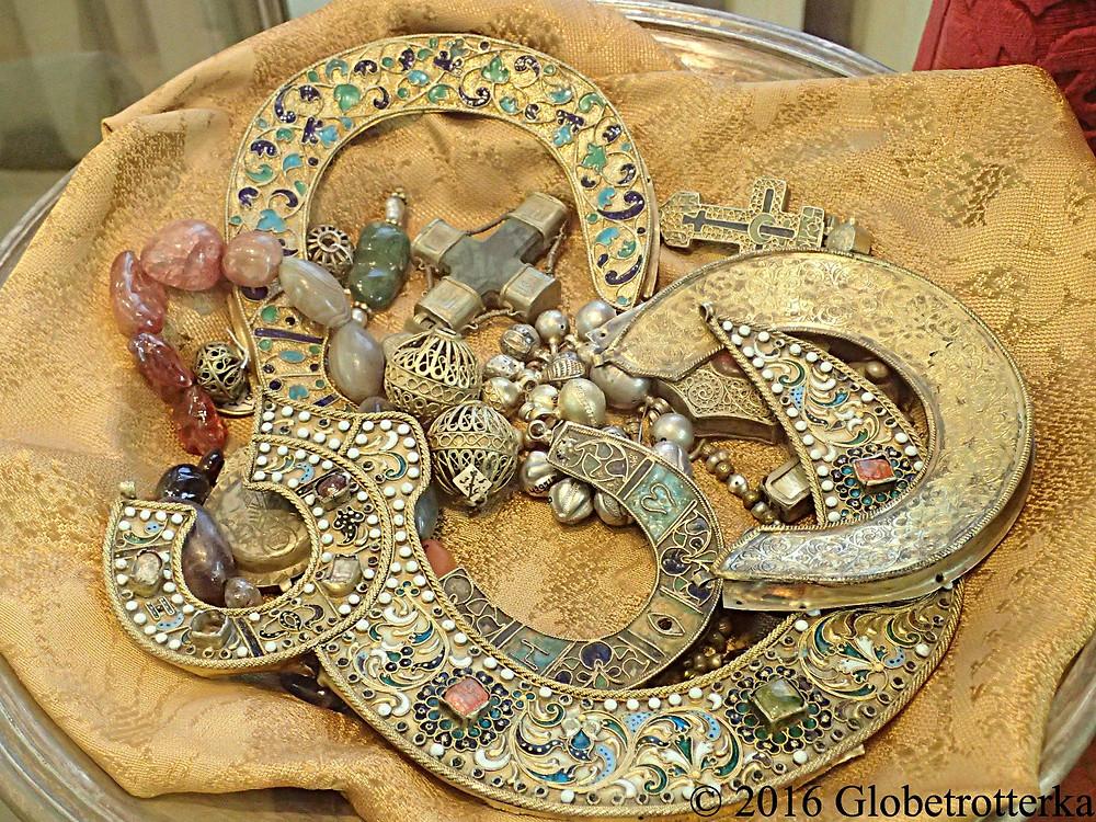 Bijoux des tsars au musée historique de Vladimir © 2016 Globetrotterka