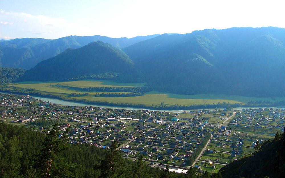 Le village de Tchemal