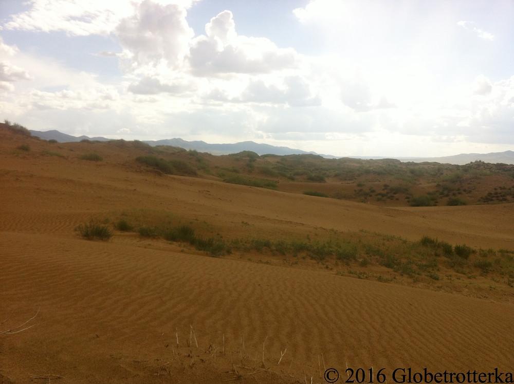 Dunes de sable © 2016 Globetrotterka