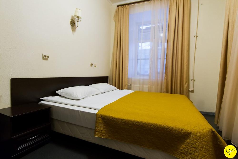 Chambre standard, photo du site de l'hôtel Yellow Hotel