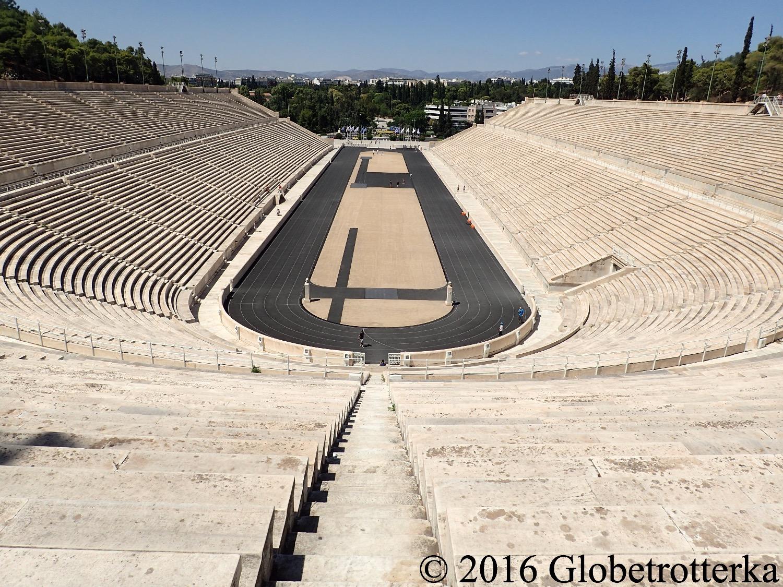 Stade panathénaïque, Athènes, Grèce