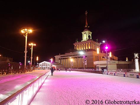 La plus grande patinoire d'Europe