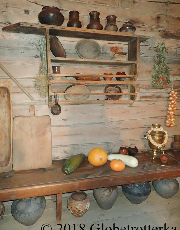 Intérieur d'une maison de paysans