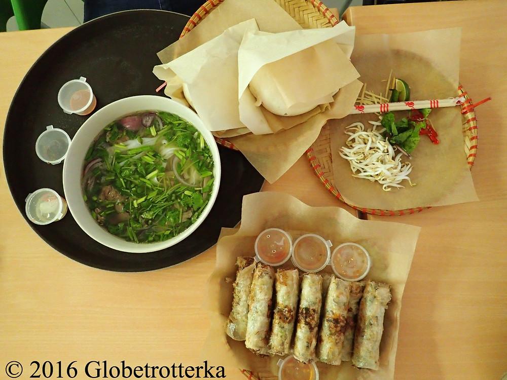 Cuisine vietnamienne, marché Danilovski © 2016 Globetrotterka