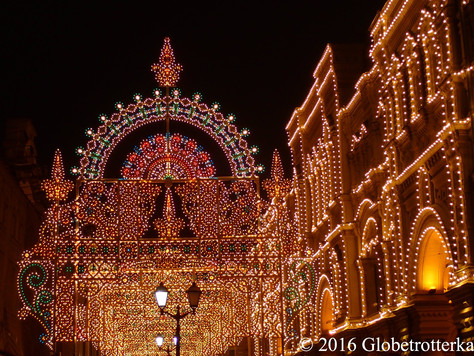 Les illuminations du Nouvel an