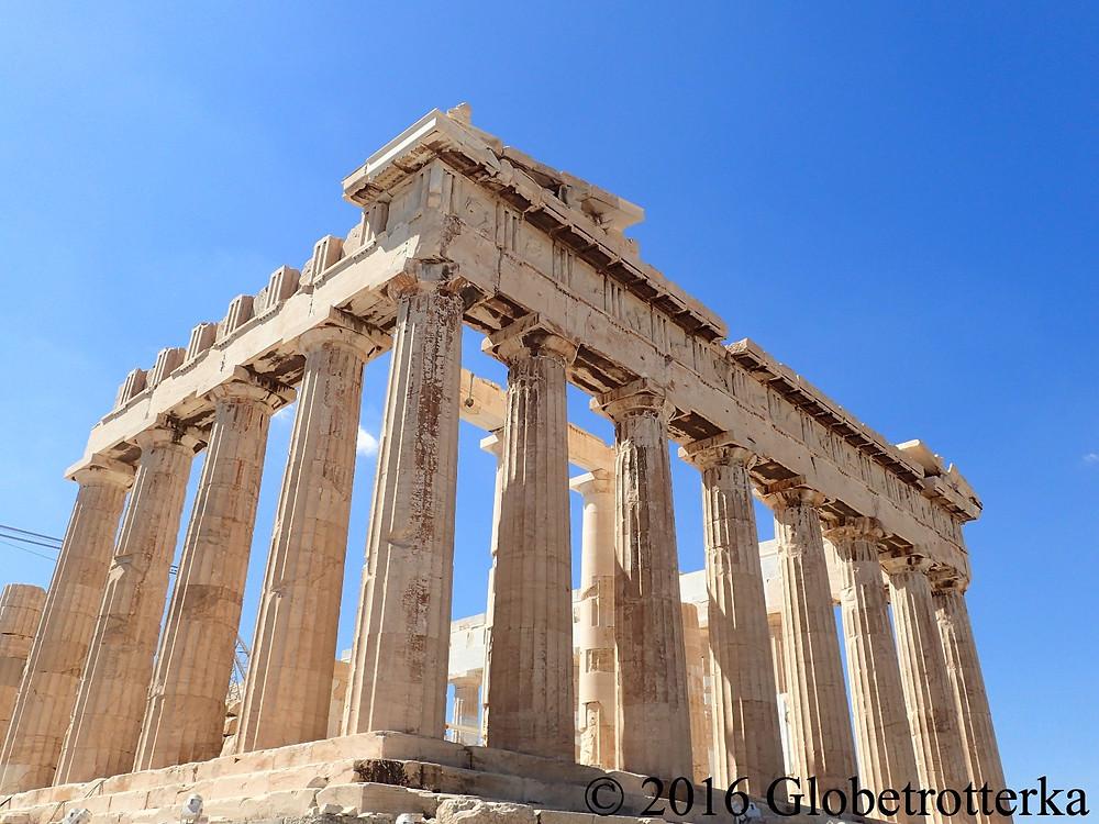 Façade est du Parthénon