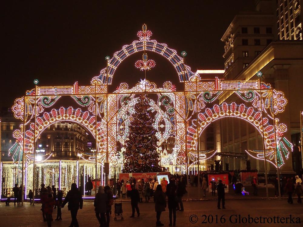 Place Manejnaïa © 2016 Globetrotterka