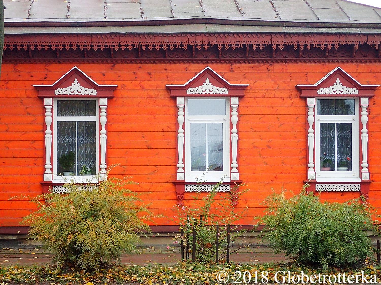 Devanture d'une maison traditionnell
