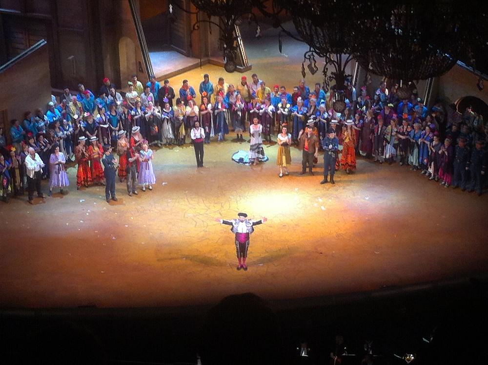 L'opéra Carmen, juillet 2015.