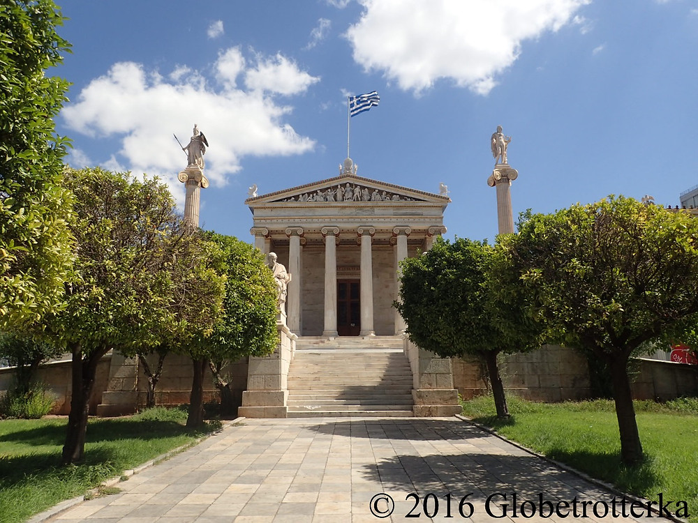 L'Académie d'Athènes. © 2016 Globetrotterka