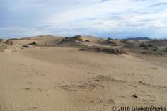 Paysages du désert de Gobi