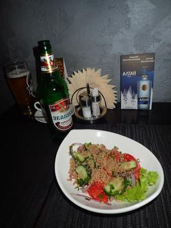 Salade géorgienne, Mix Café, Moscou