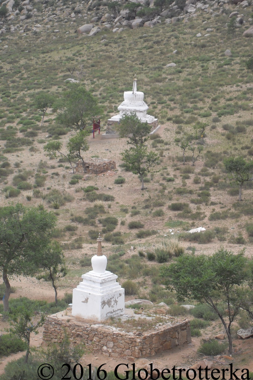 Temples dans le désert de Gobi © 2016 Globetrotterka