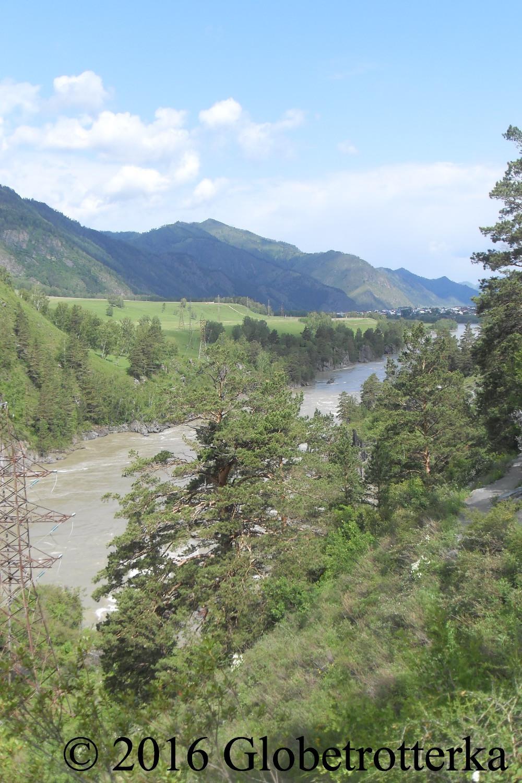 Rivière Katoune, République de l'Atlaï © 2016 Globetrotterka