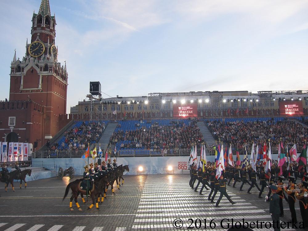 Cinquième festival Spasskaïa bachnia, août 2012, la cavalerie russe. © 2016 Globetrotterka
