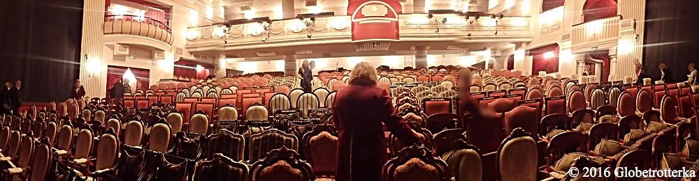 Scène principale du théâtre Et Cétéra © 2016 Globetrotterka