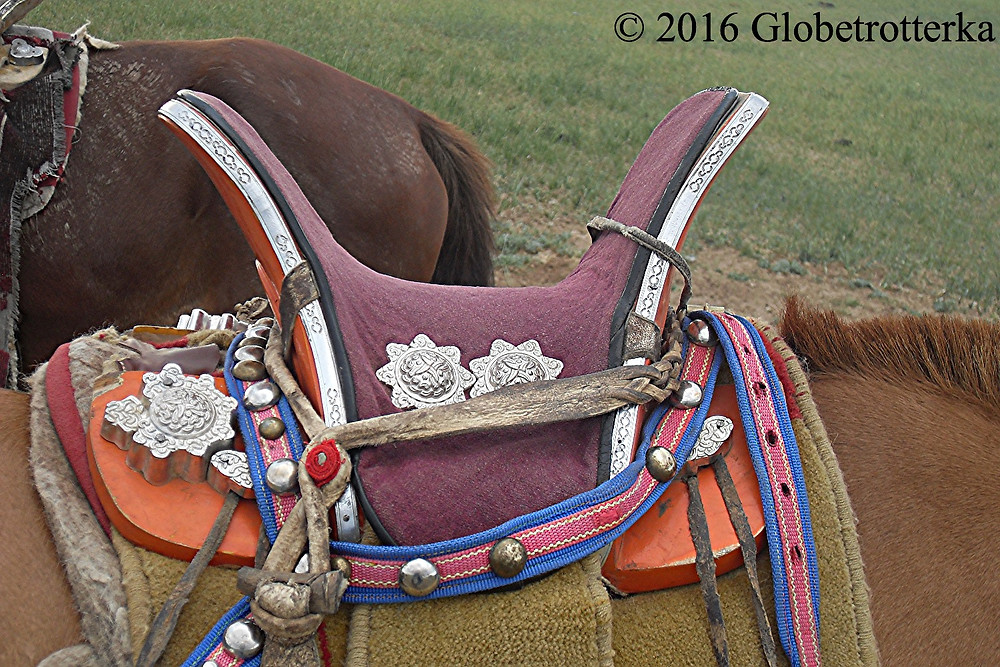 Scelle traditionnelle mongole © 2016 Globetrotterka
