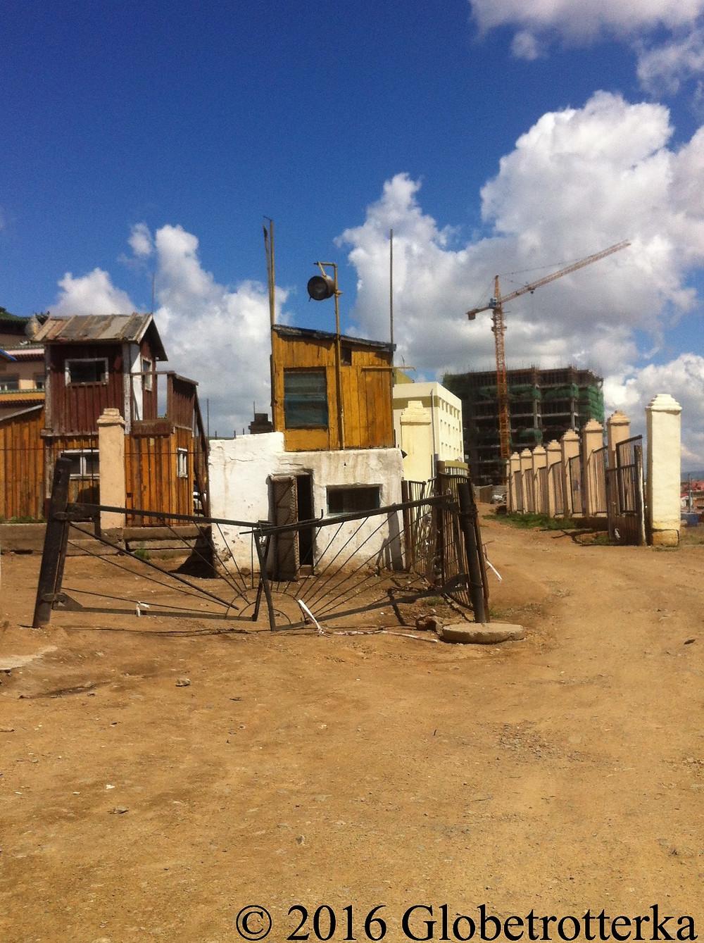 Une partie du bidonville d'Oulan Bator © 2016 Globetrotterka