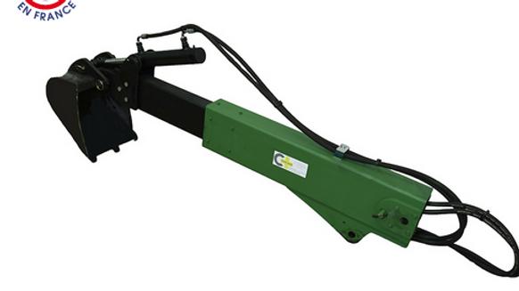 Baggerarmverlängerung hydr. ausfahrbar für Minibagger Cigale