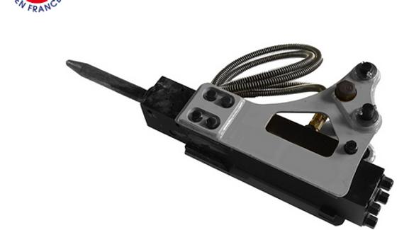 Hydraulikhammer kpl. mit Aufnahme und Antrieb Hoflader Minibagger