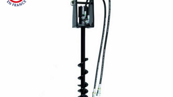 Erdbohrer 100 mm kpl. mit Aufnahme und Antrieb