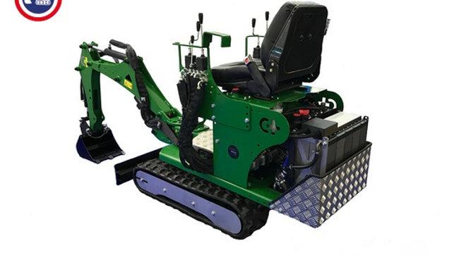 Elektro Minibagger Microbagger 48 V 360° 800 KG Losbrechtkraft
