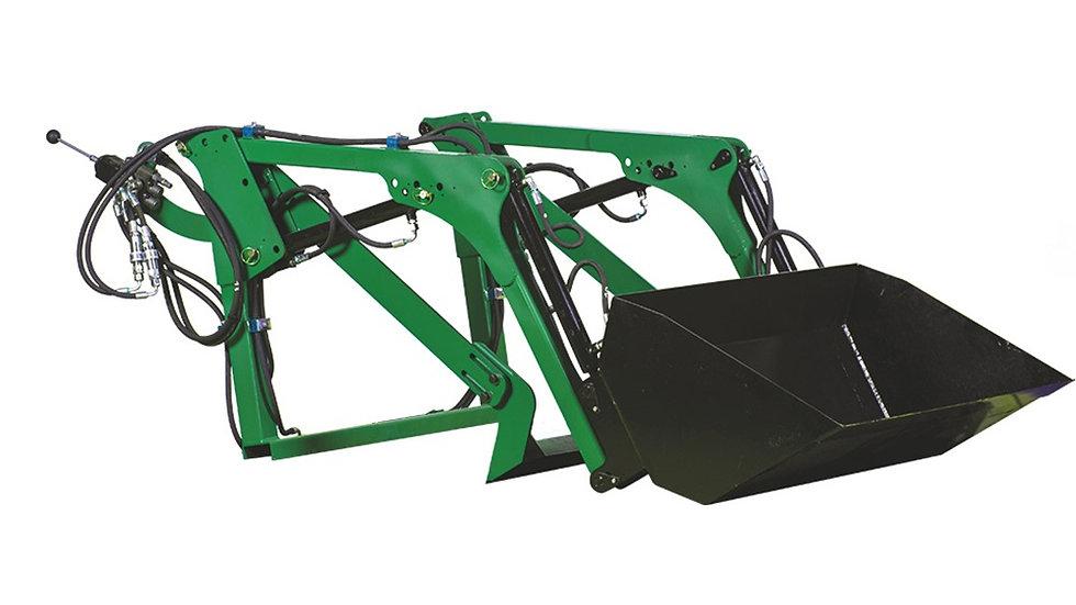 Frontlader einschl Schaufel für Kleintraktoren Iseki, Jimma, etc