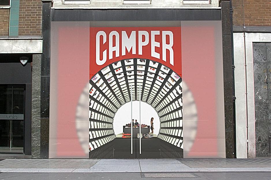 wv-studio: Design of a Camper store in London