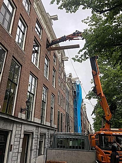 Keizersgracht dakconstructie