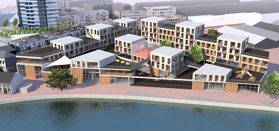 wv-studio: mixed use development Schiedam