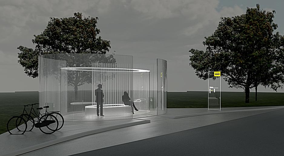 wv-studio: Glass pavilion