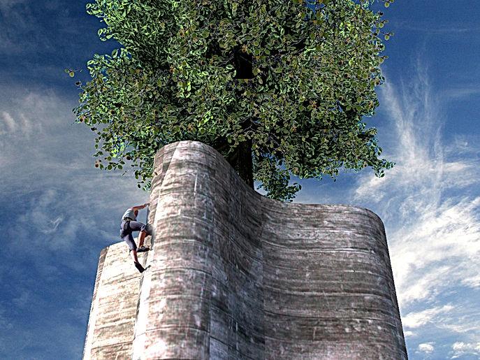 wv-studio: Design for a climbing tower