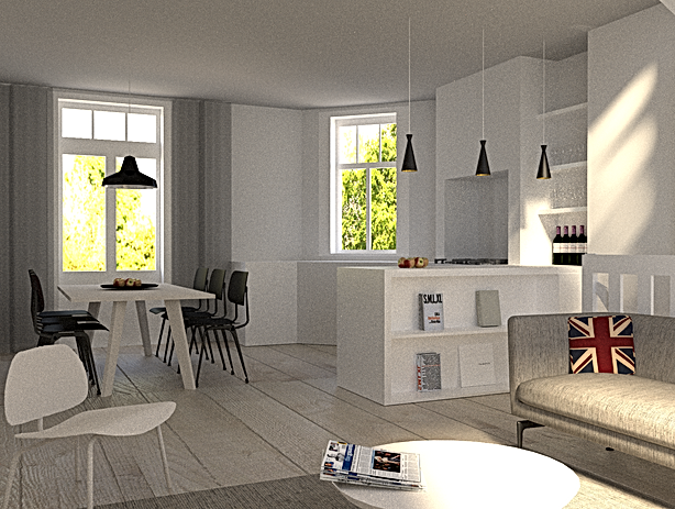 wv-studio: Apartment in Oud-West