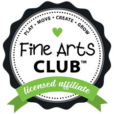 GREEN - Fine Arts Club Ribbon LICENSED A