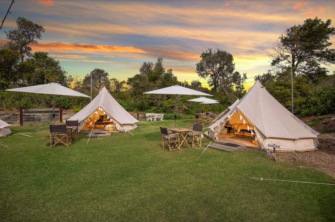 SUNSET TENTS